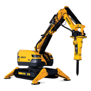 BROKK Robotic Demo