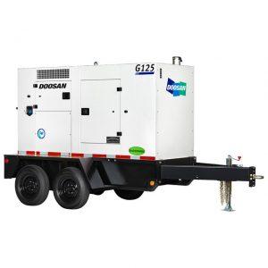 G125 (100kW) Portable Diesel Generator
