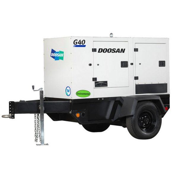 G40 (30kW) Portable Diesel Generator