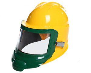 Image of GenVX® Abrasive Blasting Helmet