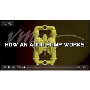 3″ Versamatic Air Powered Pump