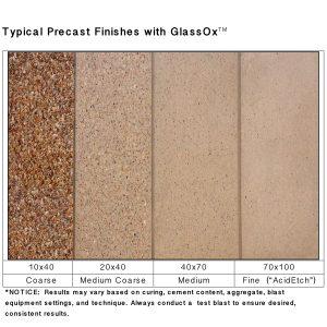 GlassOx AbrasivesTM 70x100, 50lbs Bag