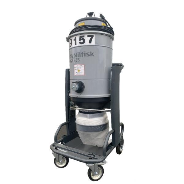 S3B, 3 Head Industrial Vacuum